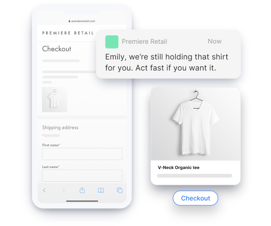 Conversational Commerce cart recovery
